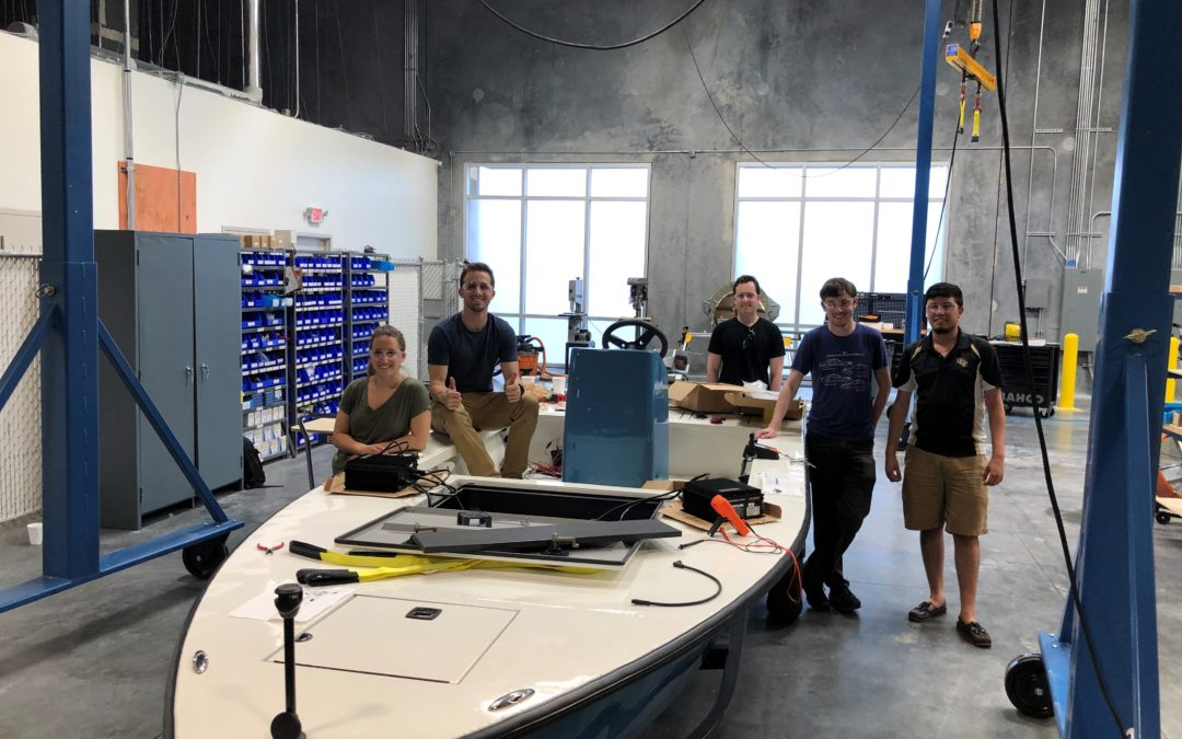 CORRECT CRAFT'S WATERSHED INNOVATION AND UCF SENIOR DESIGN PROJECT SELECTED IN STATEWIDE SHOWCASE