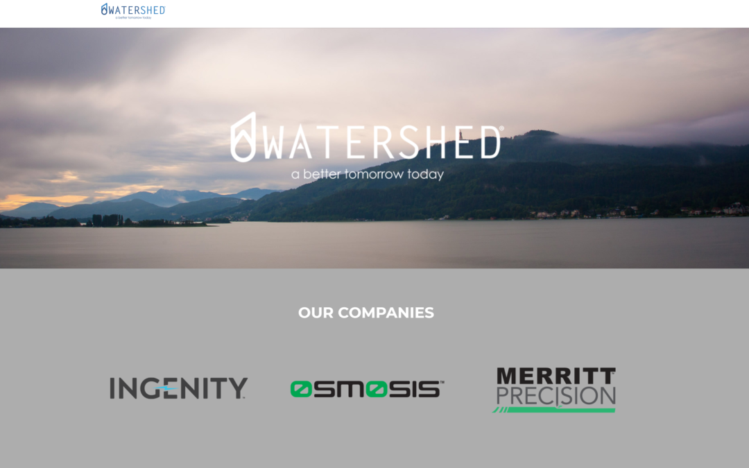 WATERSHED INNOVATION LAUNCHES NEW WEBSITE