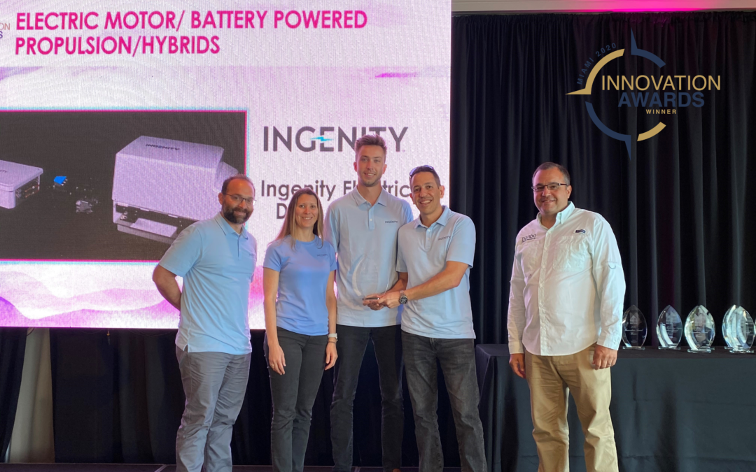 INGENITY WINS INNOVATION AWARD AT MIAMI INTERNATIONAL BOAT SHOW